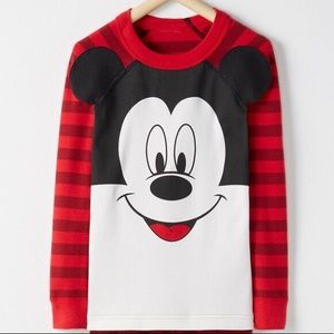 Hanna Andersson Mickey Mouse Pajama Top 150 12